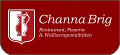 Restaurant Pizzeria & Walliserspezialitäten Channa Brig Logo